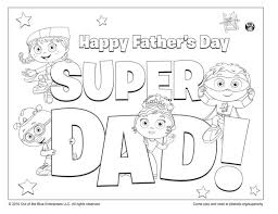 No doubt, most of the kids will welcome coloring sheets with a lot of enthusiasm. Super Dad Coloring Page Kids Coloring Pages Pbs Kids For Parents