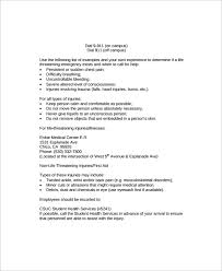 Example Of An Action Plan Template Custom 48 Sample Emergency Action Plan Templates Sample Templates
