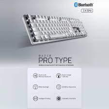 Razer Pro Loại Bàn Phím Cơ Bluetooth + 2.4GHz Dual Chế Độ Không Dây Bàn  Phím Razer Cam Công Tắc Cơ Bạc|Keyboards