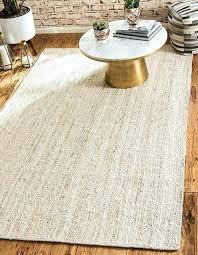 jute rug white 5 x 8 braided area rugs 5x8