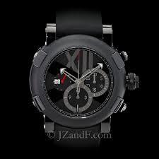 titanic dna all black romain jerome watch carbon fiber romain jerome men s watch titanic dna all black carbon fiber pvd chronograph