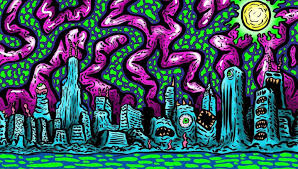 Trippy Pattern Impressive Rave Life Get Lost In The Trippy Art Of Luis Colindres Threadless