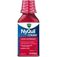 Nyquil Severe Cough Cold Flu Nighttime Relief Liquid