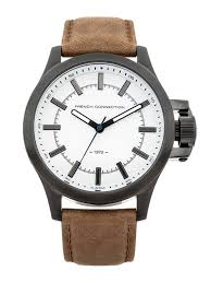 buy fcuk men white dial watch fc1240twgj watches for men myntra