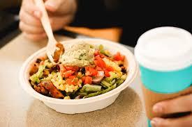 taco salad at qdoba