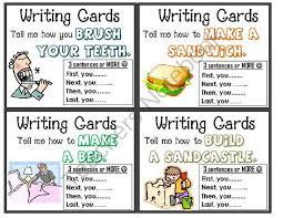 Year 3 writing tasks