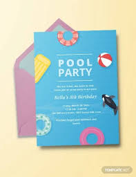 We know that every state, county, city, situation… looks really different for people right now, and everyone wants to be careful since covid. Free 12 Sample Best Pool Party Invitation Templates In Ai Ms Word Pages Psd Publisher