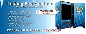 Used Live Bait Vending Machine For Sale Interesting Live Bait Vending Machines And Supplies Live Bait Vending Machines