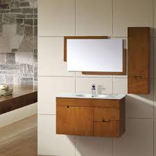 Accent Wall Bathroom Furniture Natural Rock Accent Wall And Minimalist Bathroom
