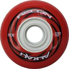 Inline Wheels Hardness Chart Amazon Com Alkali Rpd Recon Outdoor Inline Hockey Wheels