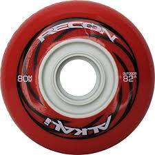 Amazon Com Alkali Rpd Recon Outdoor Inline Hockey Wheels