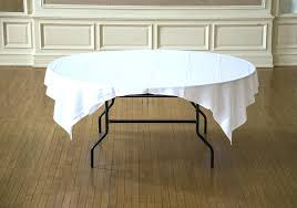 square to round table top tablecloth on within prepare tablecloths for 8 square to round table