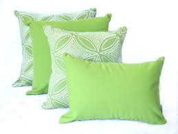 malibu lime outdoor cushion