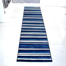 navy blue runner rug lovely modern teal white striped hallway and