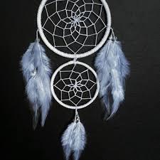 Double Dream Catchers White double dream catcher white web from dreampeacepositivity 6