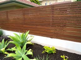 Contemporary Fence 5 - I like the variation in slat size