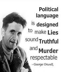 Quote       George Orwell      Quotes on Dicatators  War  Money  Truth WallDevil