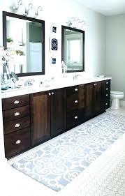 bath rug runner extra long bathroom rugs designs target