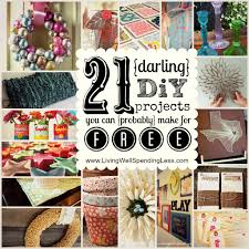 Free Diy Projects Get Fearlessly Crafty Day 16 Living Well Spending Lessar