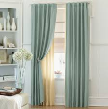 Aweinspiring Grey Double Bedroom Curtains With Single White - Bedroom window treatments