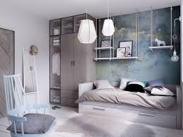 Concrete Floor Bedroom Design Concrete Finish Studio Apartments Ideas Inspiration