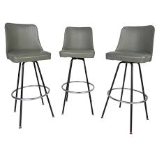 furniture mid century modern bar stools by atlas for sale at stdibs