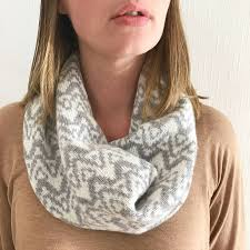 Snood Pattern Custom Decorating Design