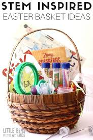 stem easter basket ideas for kids