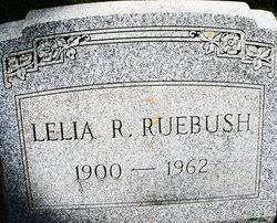Lelia Rosanna Palmer Ruebush (1900-1962) - Find A Grave Memorial
