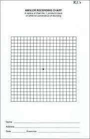 Eye Grid Chart Amsler Recording Chart Pads