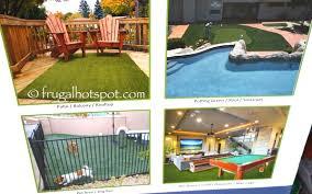 pregra fescue artificial grass turf 3 75 x 12 costco frugal hotspot