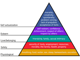 work motivation  maslow s hierarchy of needs edit
