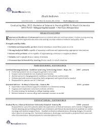 New Graduate Nurse Resume Resumes Examples And Cover Letter Lpn
