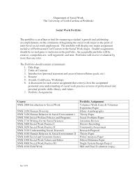 Gallery Of Social Work Resume Examples