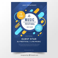 Blank Event Flyer Templates Event Poster Vectors Photos And Psd Files Free Download