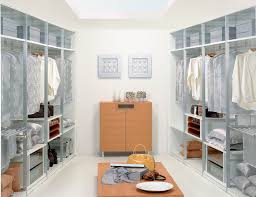 Luxury Walk In Closet Empty Master Bedroom With Walk In Closet And Bathroom Stock