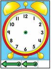 Сделать часы для изучения времени 135