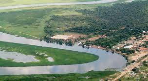 خريطة نهر النيل من المنبع الى المصب