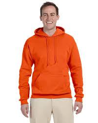 Jerzees 8 Oz Nublend 50 50 Hooded Pullover