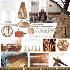 lighting trend. Trendboard - Wood Lighting Trend