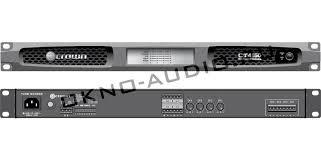crown ct усилитель канальный Мощность на канал Вт•  crown ct4150 усилитель 4 канальный Мощность на канал 125Вт•4