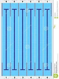 Sport Swimming Pool Vector Stock Vector Illustration of