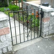 4 ft wide metal garden gate wide garden gate 4 ft wide metal garden gate extra