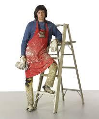 Duane Hanson | Artist With Ladder (1972)