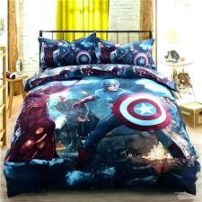 avengers bed set teen boy bedding