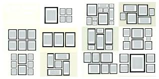 wall collage frames ideas