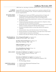 9 Professional Rn Resume Samples Laredo Roses
