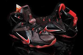 lebron james shoes 12 black. nike teenage lebron james 12 black red shoes n