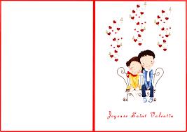 Carte De St Valentin
