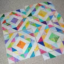 half square triangles | a daily dose of fiber & Half square triangle quilt Adamdwight.com